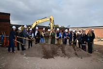 Groundbreaking for new STARBASE facility