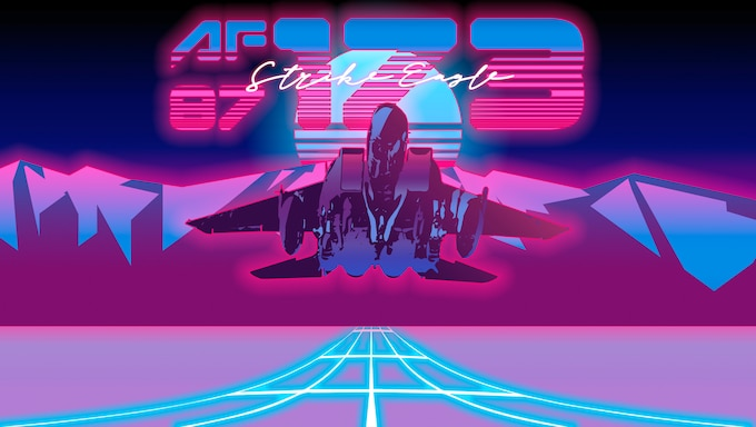 """This U.S. Air Force graphic represents the F-15E Strike Eagle, tail number 87-173, assigned to the 389th Fighter Squadron at Mountain Home Air Force Base, Idaho. Jet 173 was the lead jet during the longest sortie performed by a fighter jet in mission called the """"Kabul-ki Dance"""" Nov. 12, 2001, during Operation Enduring Freedom. This mission lasted over 15 hours and required 10 in-air refuelings while evading enemy attacks to, ultimately, take out several critical targets. (U.S. Air Force photo by Senior Airman Janae Capuno)"""