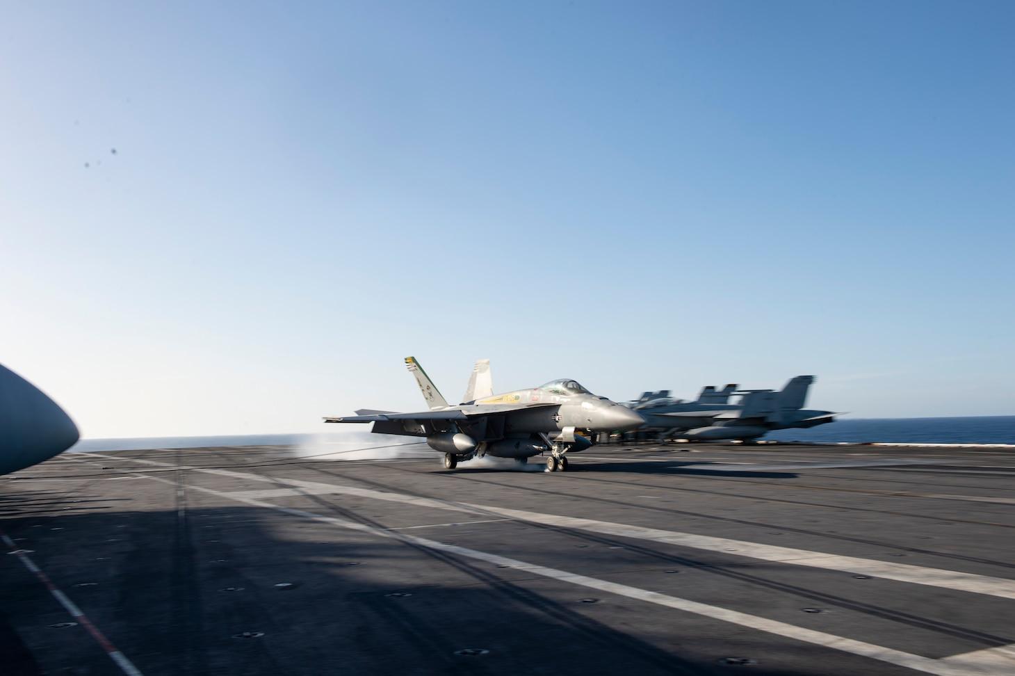 Ike INCHOPS to U.S. 6th Fleet