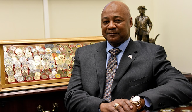 Lorenzo Mack serves as the director for Operations of the Space and Missile Defense Center of Excellence, U.S. Army Space and Missile Defense Command. (U.S. Army Photo by Carrie David Campbell, USASMDC)