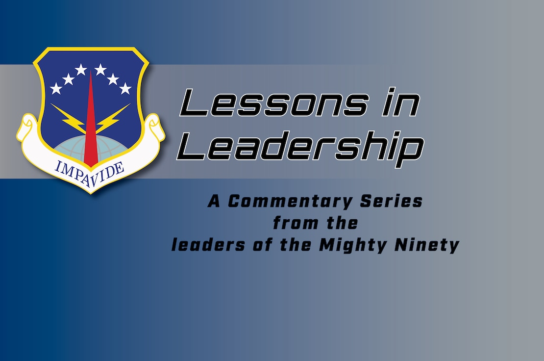 Graphic displaying Impavide and Lessons in leadership