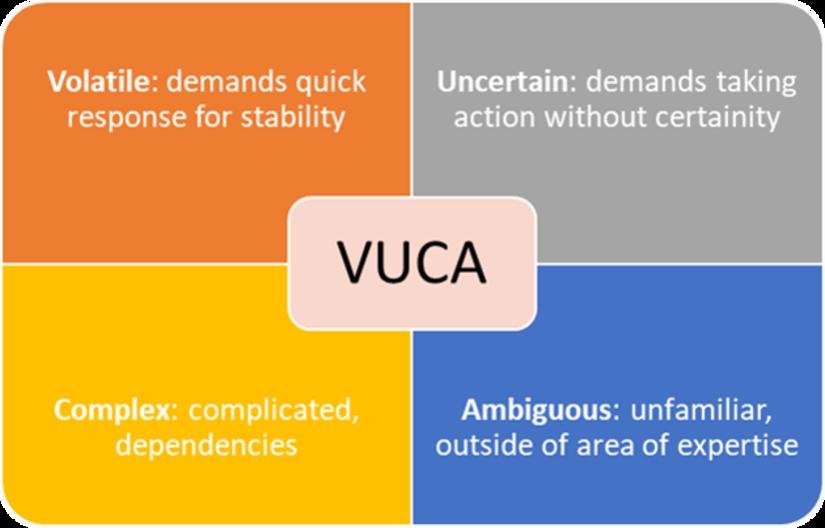 US Army VUCA Model