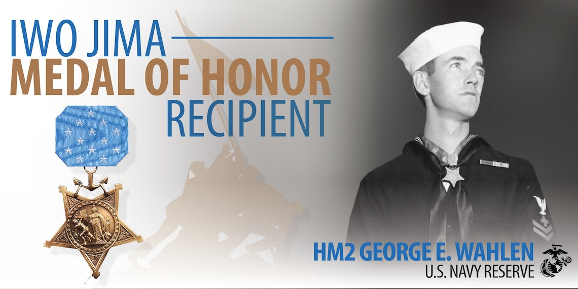 We are Iwo: Medal of Honor recipient Hospital Corpsman 2nd Class Georg