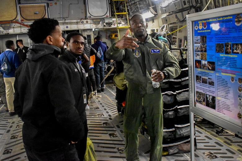 Tuskegee Airmen Career Day