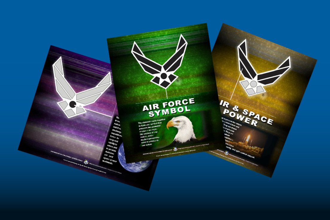link to Air Force Symbol details and poster series