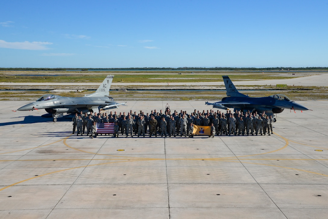 A photo of the 177th Maintenance group.
