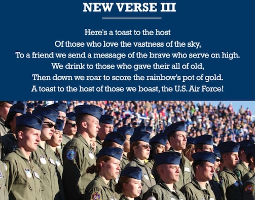 Changes to U.S. Air Force Song