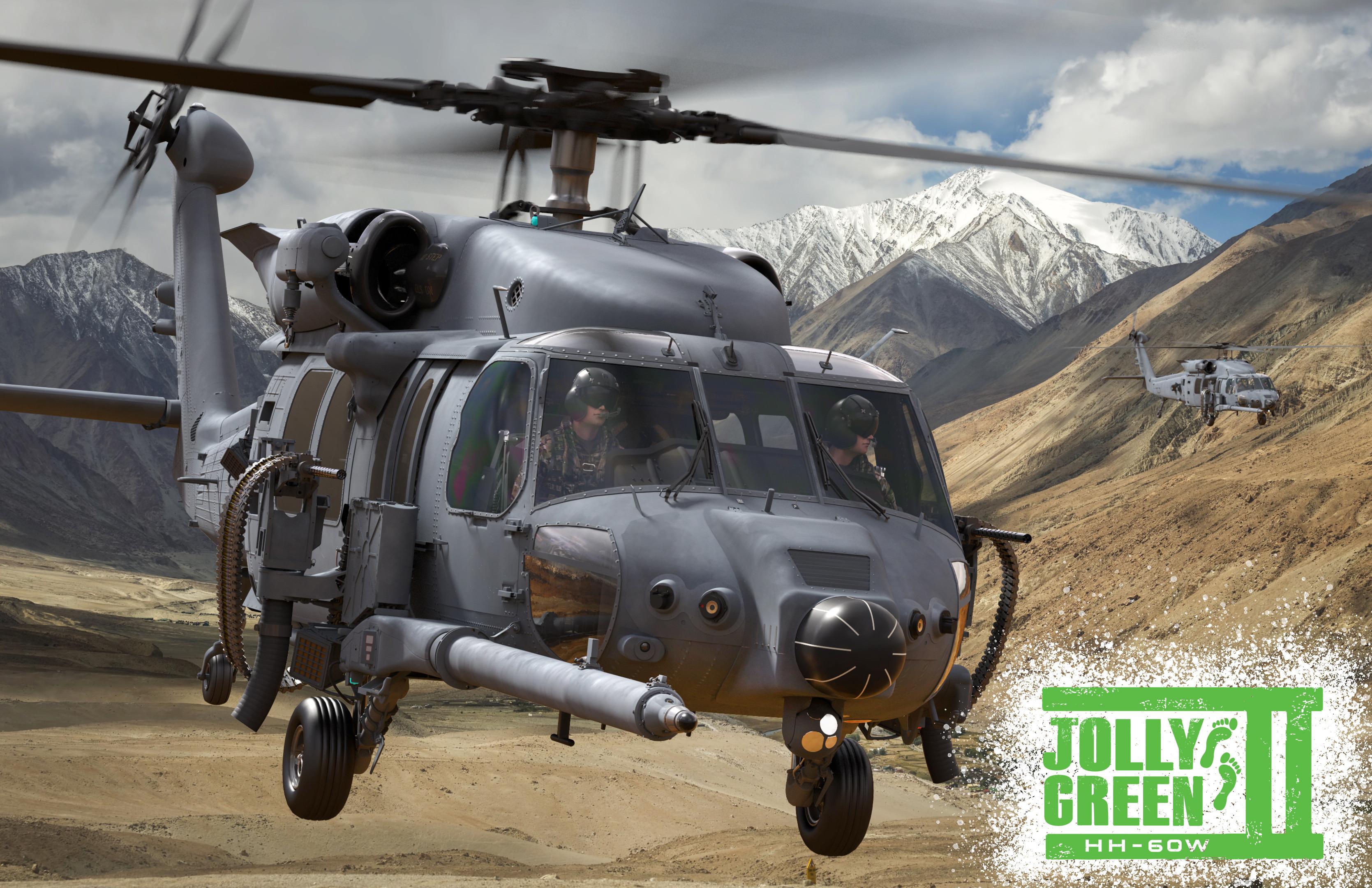 Hh 60w Jolly Green Ii Follows Footprints Of Rescue Giants U S