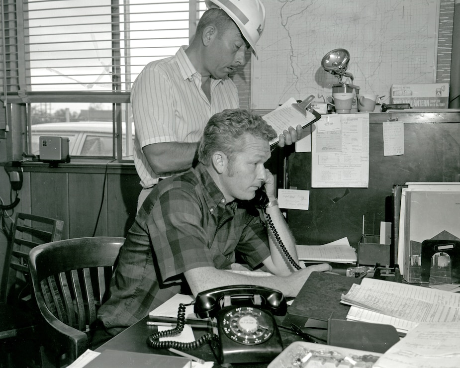 Flood Control Center 1969