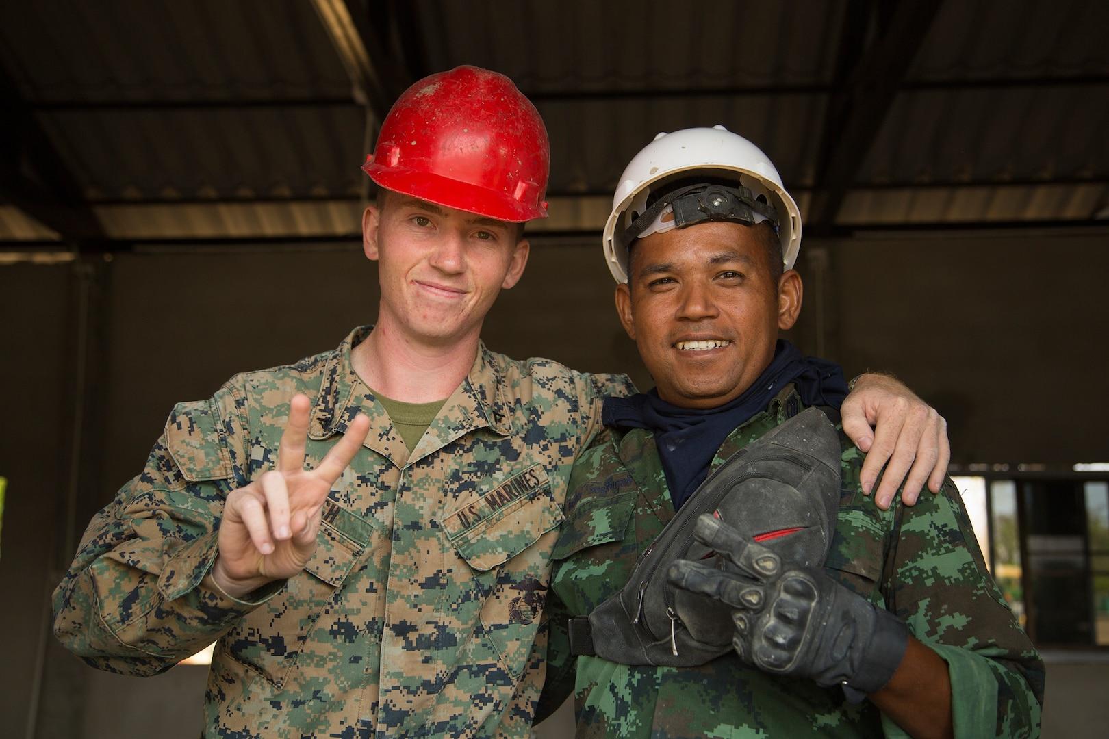 Cobra Gold 20: Royal Thai, US Strengthen Partnership through Humanitarian Civic Action