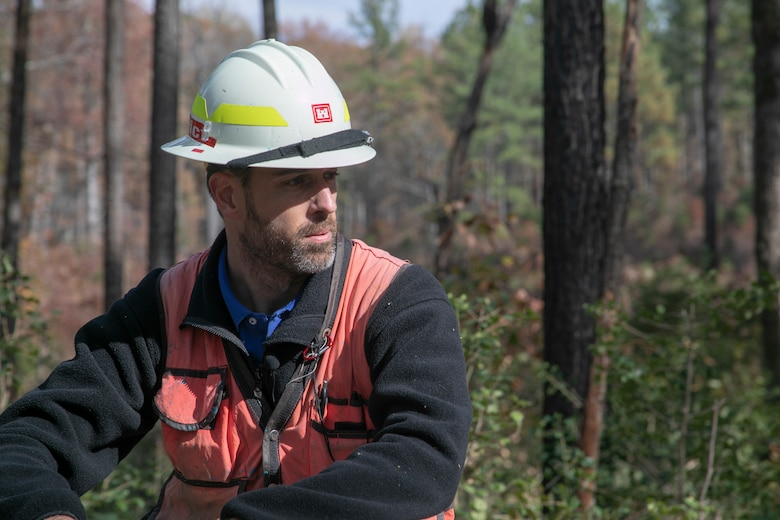 Andrew Willey is the lead forester in the Real Estate Office at Norfolk District, U.S. Army Corps of Engineers.