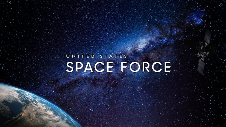 graphic with words United States Space Force
