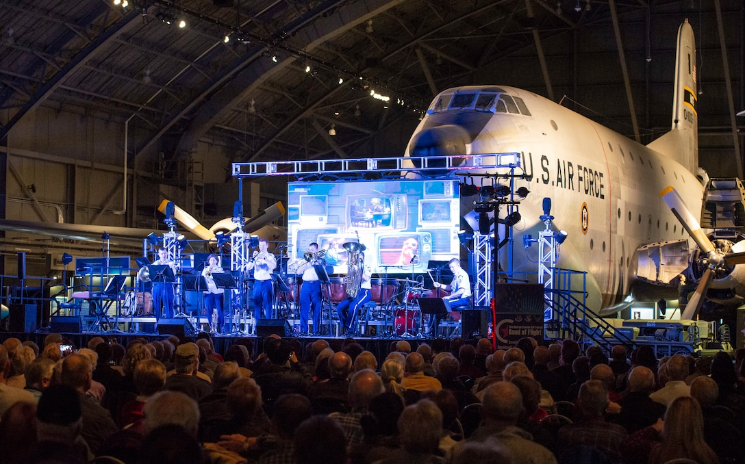 The U.S. Air Force Band of Flight, Spirit of Freedom ensemble perform