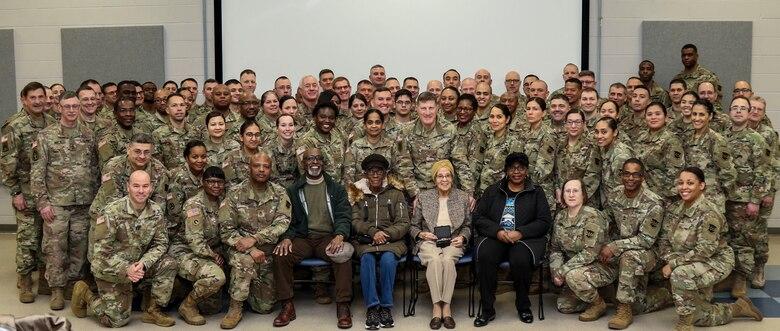 Army Reserve Soldiers honor black history pioneer
