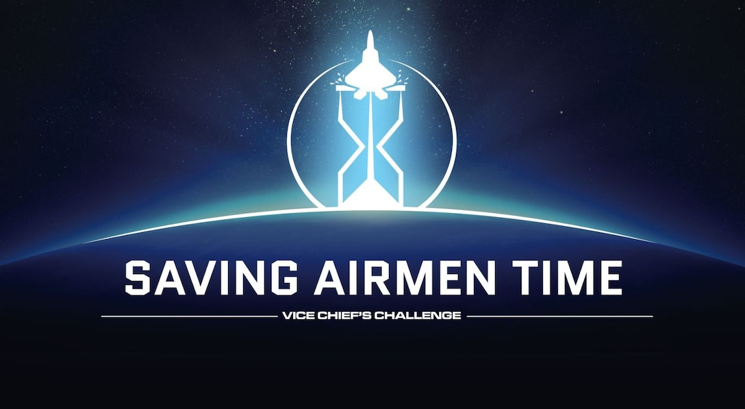 The Department of the Air Force is focused on working faster and smarter, leveraging technology to give Airmen back their most important resource — their time. That's the intent of this year's Vice Chief's Challenge, which will allow Airmen to pitch ideas and solve problems related to automation or elimination of menial tasks. (U.S. Air Force courtesy graphic)