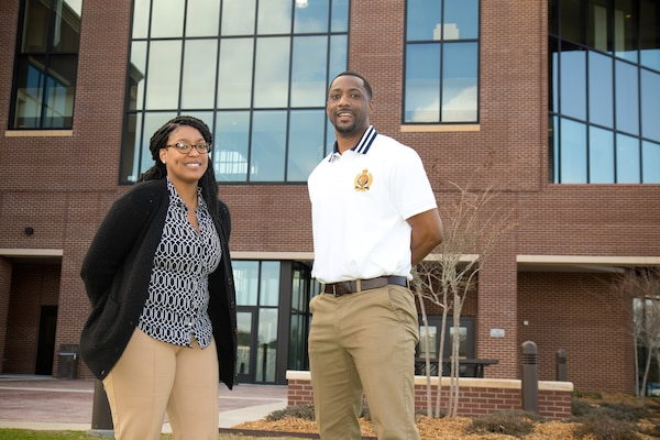 LaKenya Walker and Cameron Thomas are winners of the 2020 Black Engineer of the Year Award for Modern Day Technology Leaders.