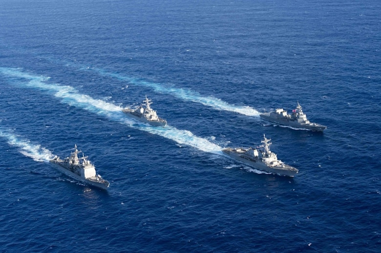 U.S. Navy, JMSDF Strengthen Alliance through Bilateral Advanced ...