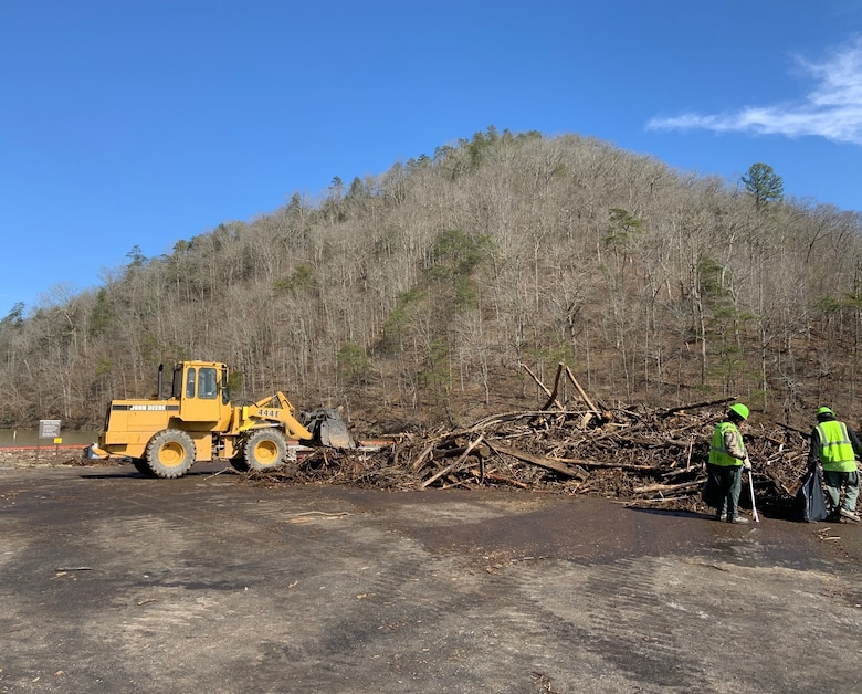 Fishtrap Lake Cleanup Continues