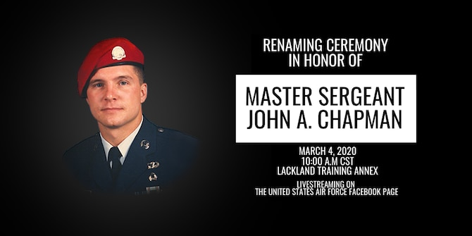 graphic of Master Sgt. John Chapman