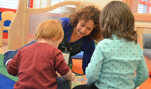 Congress provided $110 million across the services for childcare programs in the fiscal year 2020 budget. Pictured is an Army Child Development Center in Baumholder, Germany.