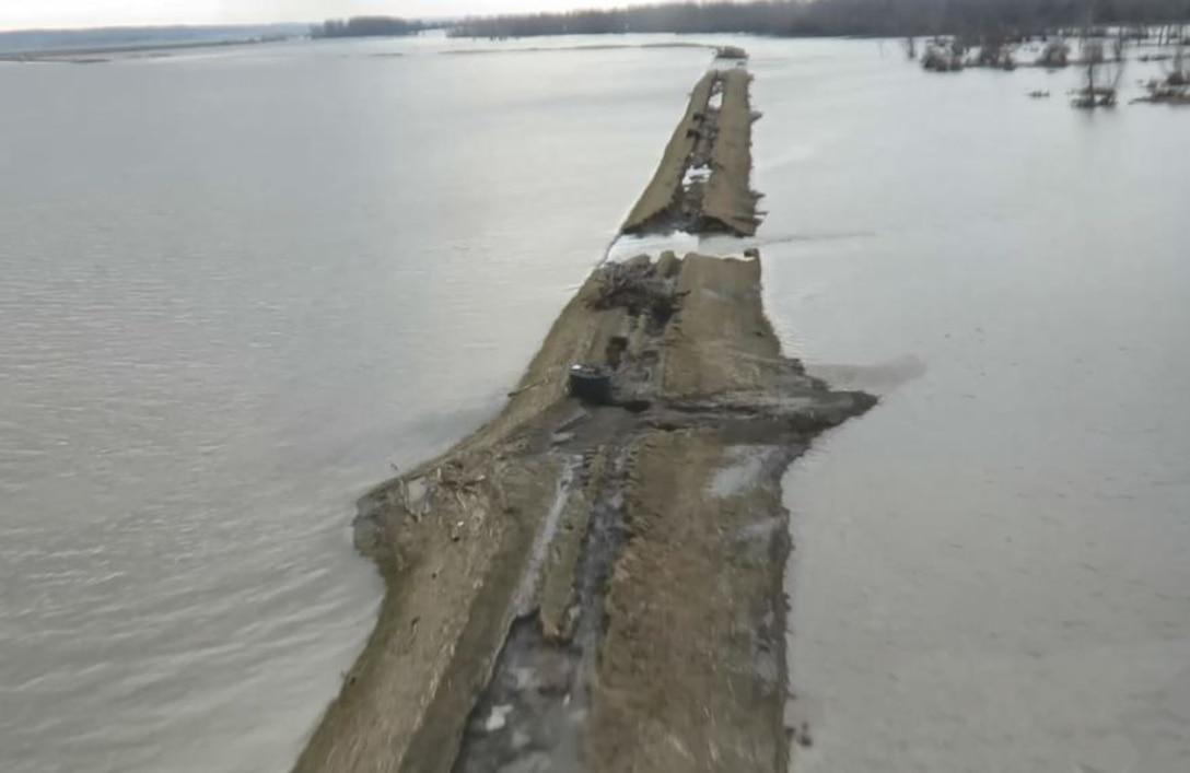 Aerial Damage Assessment along Missouri River L-550.