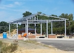 Construction on new east gate at DSCR on schedule for spring opening