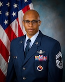 Chief Master Sgt. Conrad Dawes official photo.