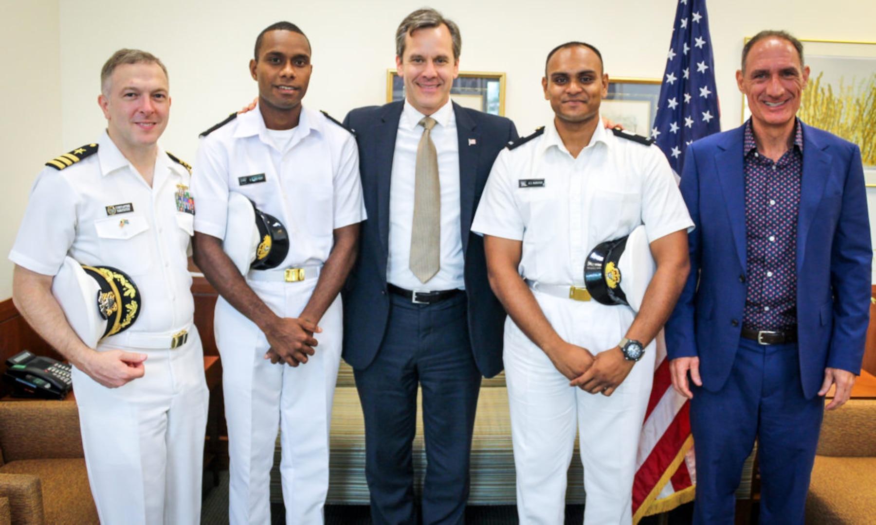 Fijian Navy Midshipmen to Receive Training in the United States