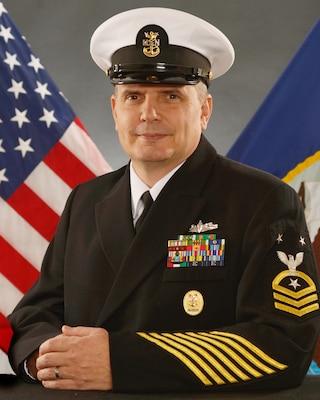 COMMAND MASTER CHIEF (SURFACE WARFARE) DONALD A. CHARBONNEAU, USN