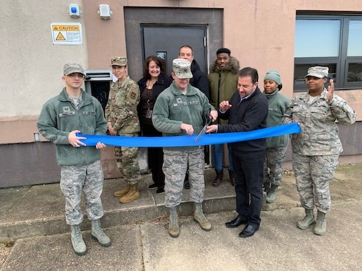 514th Mission Support Group / Commander Support Staff Ribbon Cutting