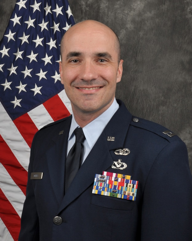 Capt. Phillip Sobers, 445th Logistics Readiness Squadron director of operations, is the 445th Airlift Wing Company Grade Officer of the Quarter.
