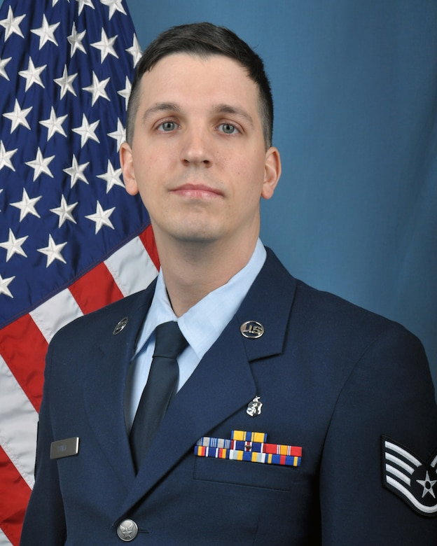 Staff Sgt. Christopher Funke, 445th Aeromedical Staging Squadron aerospace medicine technician, is the 445th Airlift Wing NCO of the Quarter.