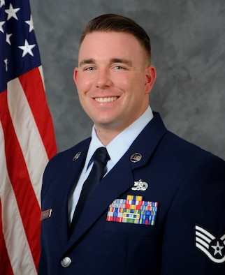 An official photo of Staff Sgt. Johnson.