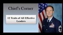Chief Master Sgt. Scott Goetze, Superintendent (U.S. Air Force graphic)