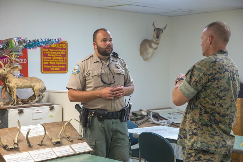 Inside protecting Camp Pendleton's natural resources