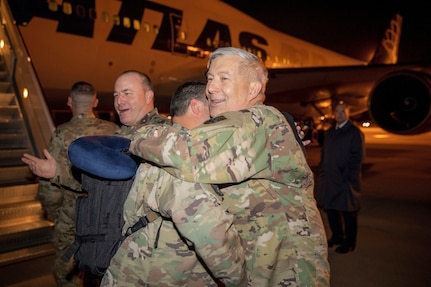 Army Reserve Air Traffic Services Company redeploys from USCENTCOM mission