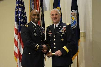Chaplain (1st Lt.) Michael A. Rivera, Jr., of Bloomington, Illinois, graduated from the Basic Officers Leaders Course, Fort Jackson, South Carolina, Dec. 19.