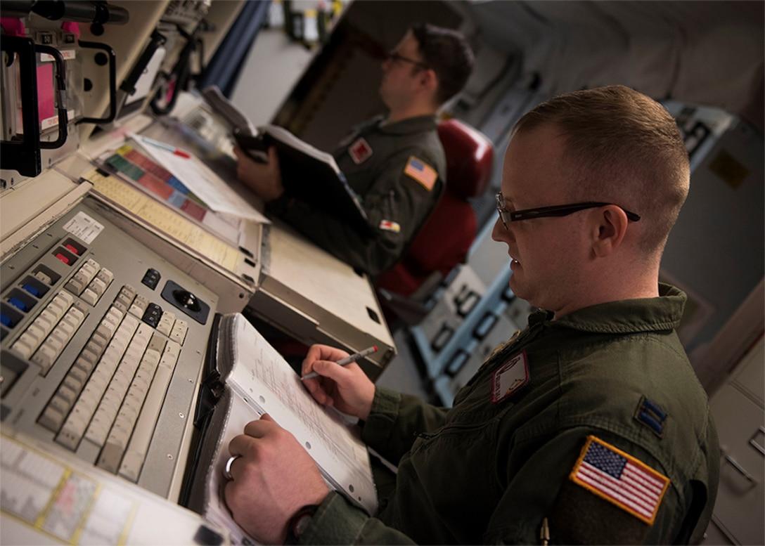 Missile Squadron deputy minuteman combat crew commander, review missile alert facility checklists
