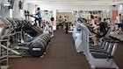 Community members exercise at Landstuhl Physical Fitness Center