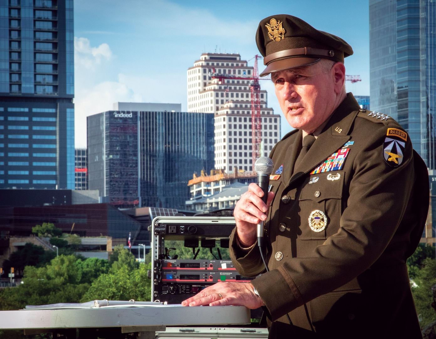 General John M. Murray, Commanding General, Army Futures Command