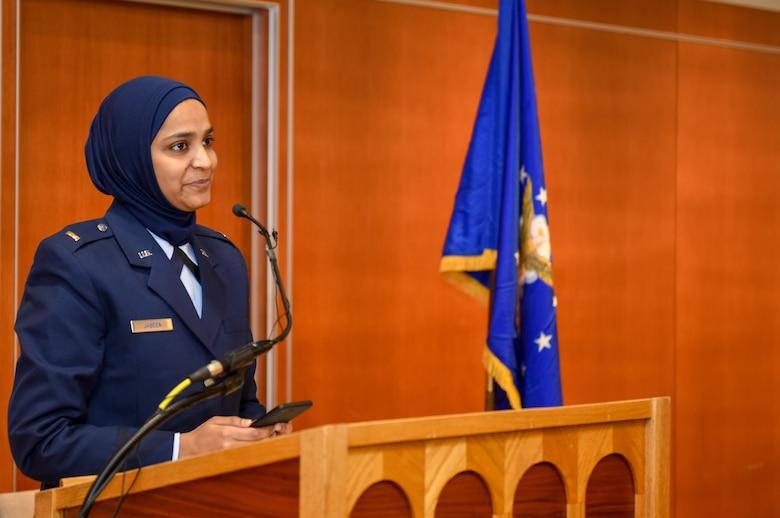 Air Force commissions first female Muslim chaplain > U.S.