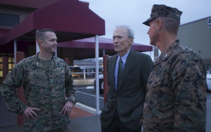 Clint Eastwood visits MCAS Camp Pendleton