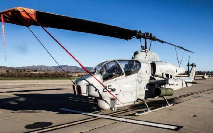 AH-1W Super Cobra on MCAS Camp Pendleton
