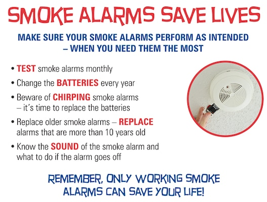 Smoke Alarms A Fire Safety Success Story Joint Base San Antonio