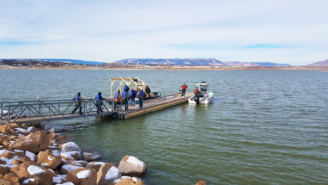 The annual Abiquiu Lake Eagle Watch was considered by rangers to be a successful event, with 66 volunteers assisting in the counting.