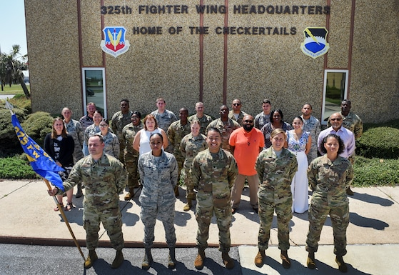 A small team assisted in getting over 11,000 people from the 325th Fighter Wing out of Hurricane Michael's path once the evacuation order was given, and continued to provide support when Tyndall needed to be rebuilt. Tyndall's very own 325th Comptroller Squadron fit the bill for this prestigious award. Their selflessness and dedication to the safety of others and the reconstruction efforts for the base has earned them the Gen. Larry O. Spencer Special Acts and Services Award. (U.S. Air Force article by Senior Airman Stefan Alvarez)