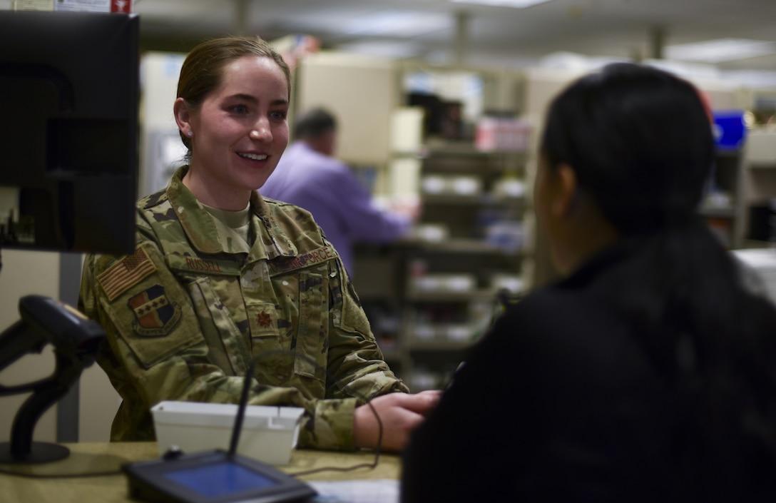 Air Force Pharmacist photo story