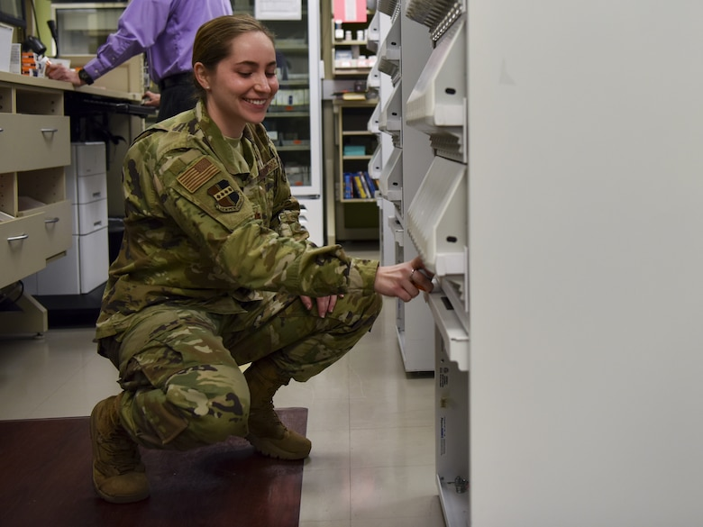 Air Force Pharmacist photo story