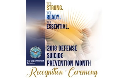 2018 Defense Suicide Prevention Month