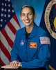 asmin Moghbeli was selected by NASA to join the 2017 Astronaut Candidate Class. She reported for duty in August 2017 and having completed the initial astronaut candidate training is now eligible for a mission assignment.. The New York native earned a Bachelor of Science degree in Aerospace Engineering with Information Technology at the Massachusetts Institute of Technology and a Master of Science in Engineering Science degree in Aerospace Engineering from the Naval Postgraduate School. Moghbeli, an AH-1W Super Cobra pilot and Marine Corps test pilot, has over 150 combat missions and 2,000 hours of flight time in over 25 different aircraft. She is also a distinguished graduate of the U.S. Naval Test Pilot School in Patuxent River, MD
